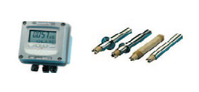 Monitors and transmitters for industrial parameters: pH, ORP, conductivity, free and total chlorine, ozone, and hydrogen peroxide