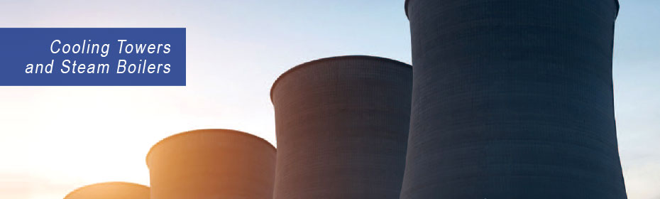 Cooling Towers and Steam Boilers