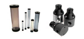 Thermoplastic or stainless steel back pressure and pressure relief valves, ¼ in. to 3 in.