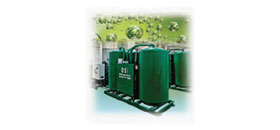 Oxygen generators (from ½ tons to 5 tons per day)