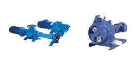 Progressive cavity pumps for industrial and sanitary use